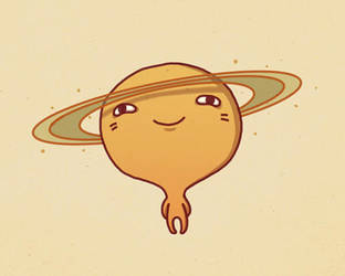Saturn by AnnekaTran