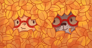 Fall Friends by AnnekaTran