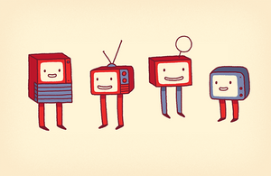 Happy TVs by AnnekaTran