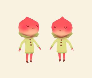Peachy 3D by AnnekaTran