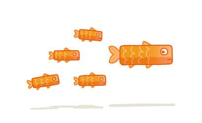 Fish Fingers by AnnekaTran