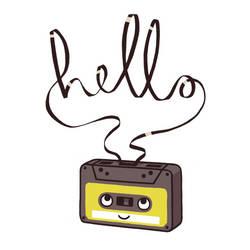 Hello Cassette by AnnekaTran