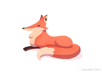 Father Fox by AnnekaTran