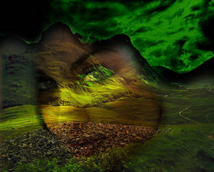 Green face by RG337