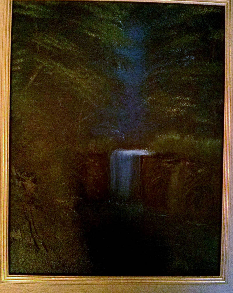Deep forest waterfall by Shinkalork