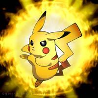 Pikachu by goRillA-iNK