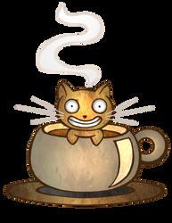 COFFEE COFFEE Mew CoFfEe by goRillA-iNK