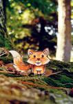 Little Little Foxy by goRillA-iNK