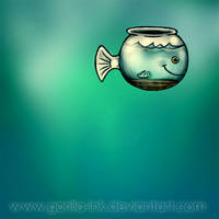 Fishbowl by goRillA-iNK