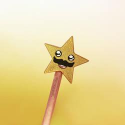 The Stache Star by goRillA-iNK