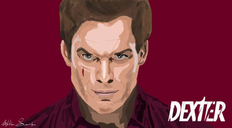 Digital Painting of Dexter (Michael C. Hall) by Morware