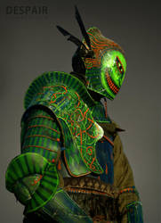 armor made for DESPAIR by bramiac