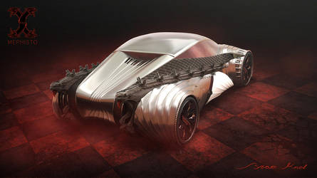 Mephisto Concept Car by bramiac