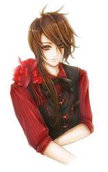 Red/Black Suit by kaskachan