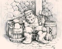 dwarf on bugman by WekT