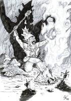 Goblin Shaman by WekT