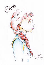 Anna by Hummingbird26