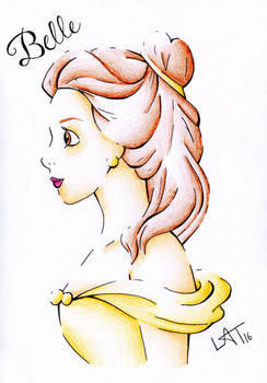 Belle by Hummingbird26
