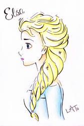 Elsa by Hummingbird26