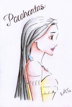 Pocahontas by Hummingbird26