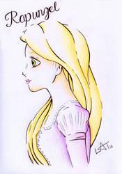 Rapunzel by Hummingbird26