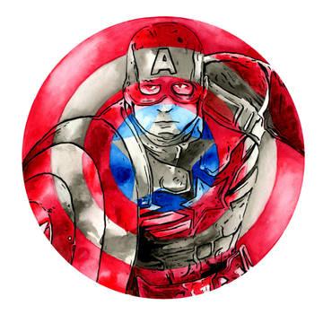Captain America by Hummingbird26