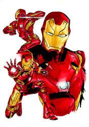 Iron Man by Hummingbird26