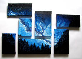 Blue Galaxy by Hummingbird26
