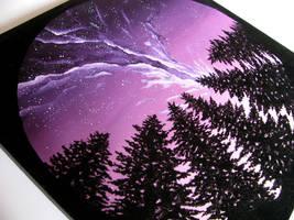 Purple Sky by Hummingbird26
