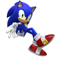 Jump Sonic Render by JaysonJeanChannel