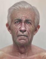 Elderly Portrait by lpeters