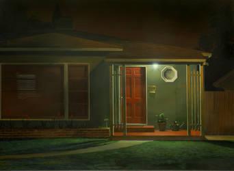 The Red Door by markhosmer