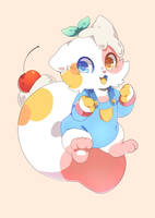 Sugar Cat Bear by SRabbitWork