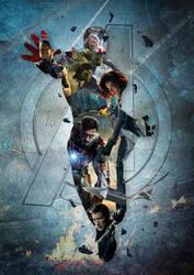The Avengers by CorentinChiron