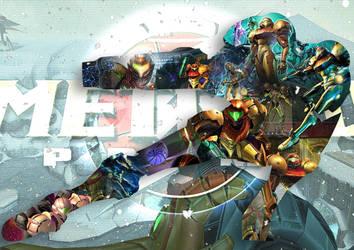 Metroid Prime by CorentinChiron