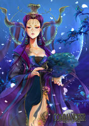 [Shangri-la] [Oracle of crescent moon] by paeng
