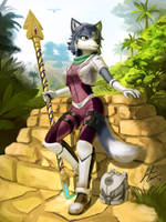 Krystal's Alternate Costume by JECBrush