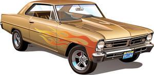 67 Pontiac Acadian by rjonesdesign