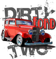 Dirty Two Ford by rjonesdesign