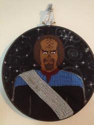 Lt. Commander Worf - Star Trek Commission by CutieCornerCrafts