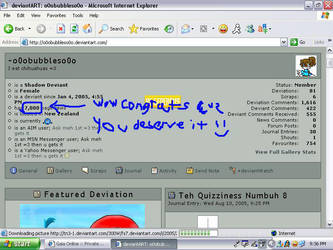 o0obubbleso0o 7000 pageviews by Demona909