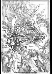 Aquaman cover 14 by IvanReisDC
