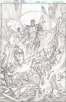 JL #25L cover by IvanReisDC