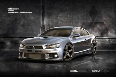 Mitsubishi Xtase by yasiddesign