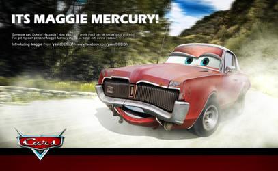 Maggie Disney pixar cars version2_yasidDESIGN by yasiddesign