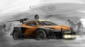 Killer MP4 by yasiddesign