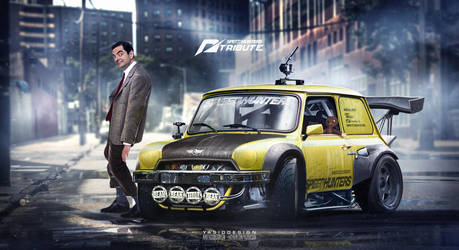 Speedhunters Mini cooper Need For speed ft Bean by yasiddesign