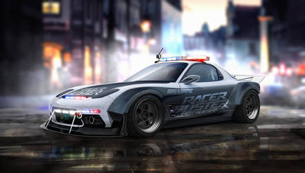 Mazda Rx7 by yasiddesign