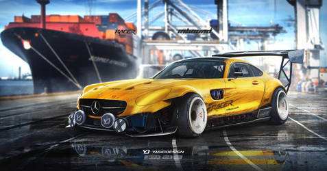 Mercedes AMG GT S Inbound Racer by yasiddesign