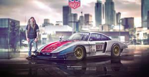 Speedhunters Porsche 935 X Magnus Walker by yasiddesign